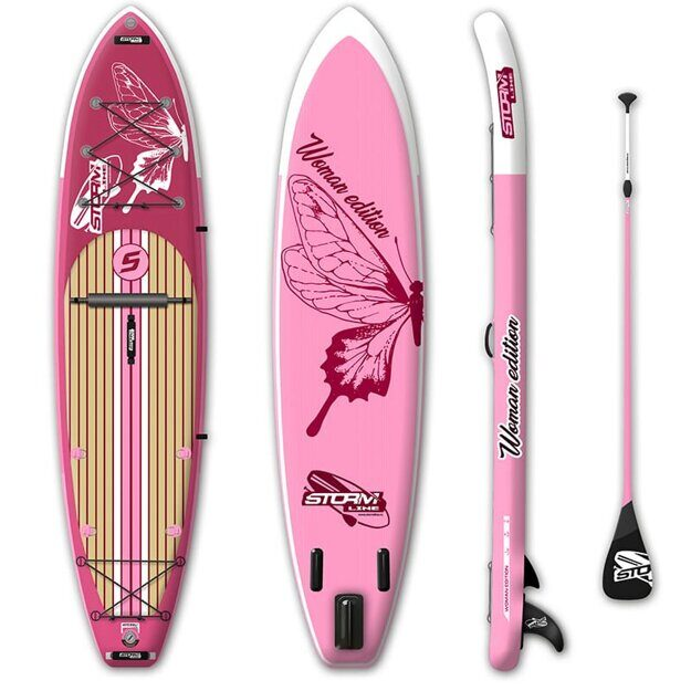 Доска SUP надувная Stormline PowerMax 10.6 WOMEN EDITION