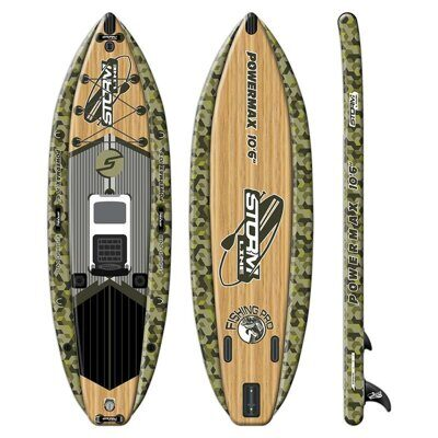 SUP-борд для рыбалки Stormline Powermax Fishing Pro 10'6